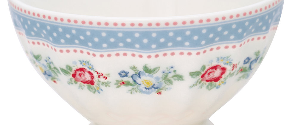 GreenGate French Bowl medium   Evie white