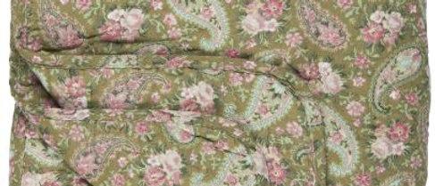 IB LAURSEN | Quilt Grün mit Paisley Rose