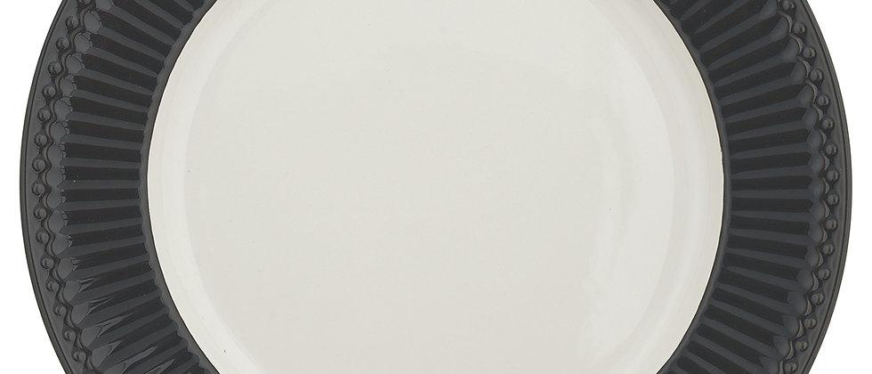 Greengate Speiseteller 26,5 cm   Alice Dark Grey