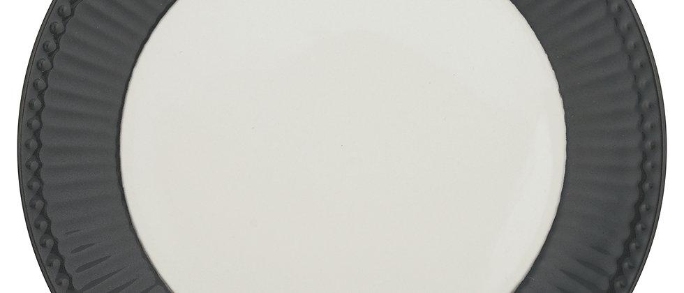 Greengate Teller 23 cm | Alice Dark Grey