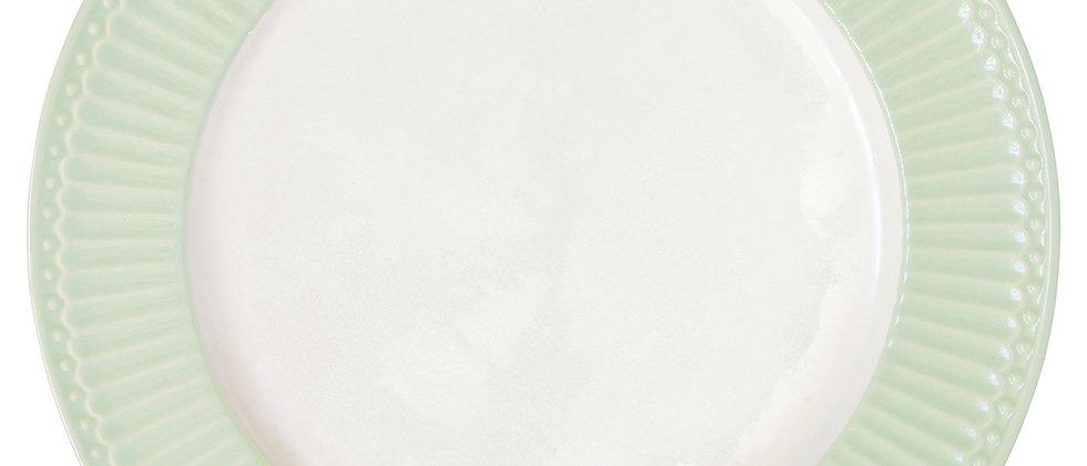 Greengate Speiseteller 26,5 cm | Alice Pale Green