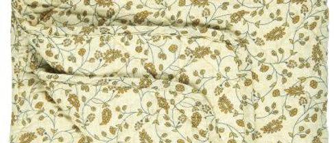 IB LAURSEN| Quilt Hellgelb mit gelben Blumen