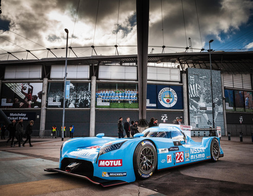 Special Livery of Nissan Race Car