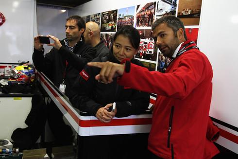 Garage Tours at Le Mans