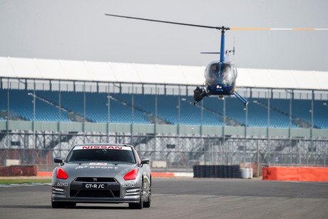 A remote controlled GT-R