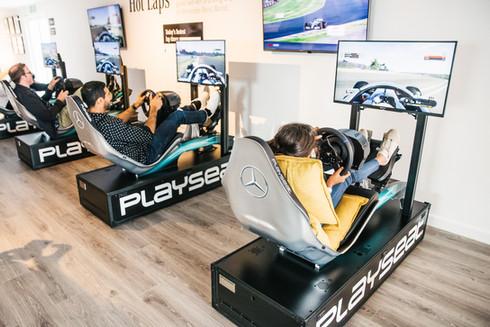 F1 Simulators for Mercedes-Benz