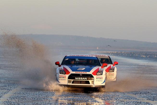 GT-R Beach Race