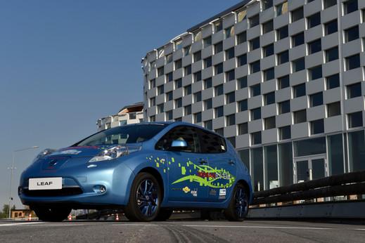 Nissan Leaf Drift Event