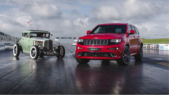 Jeep Drag Race
