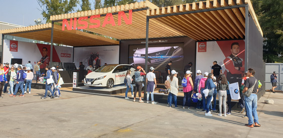 Nissan Formula E Activation