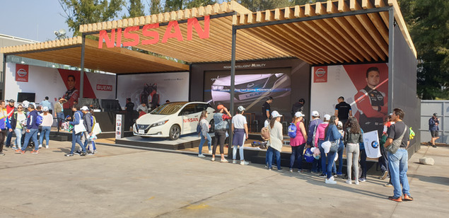 Nissan Formula E Activation