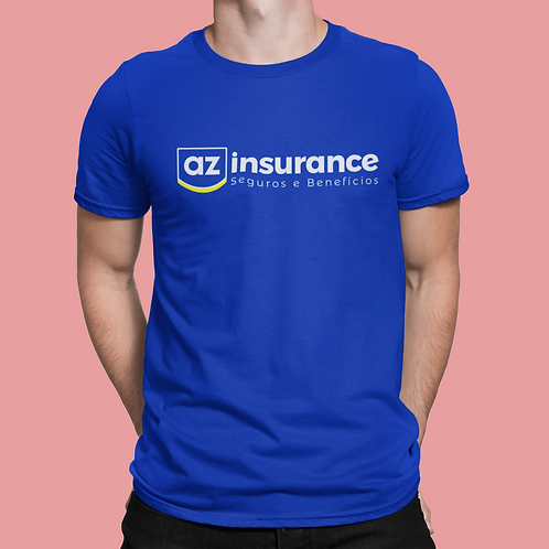 Camiseta AZ Insurance (Unissex)