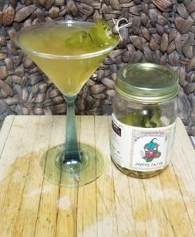 Pepper Patch Gin Martini