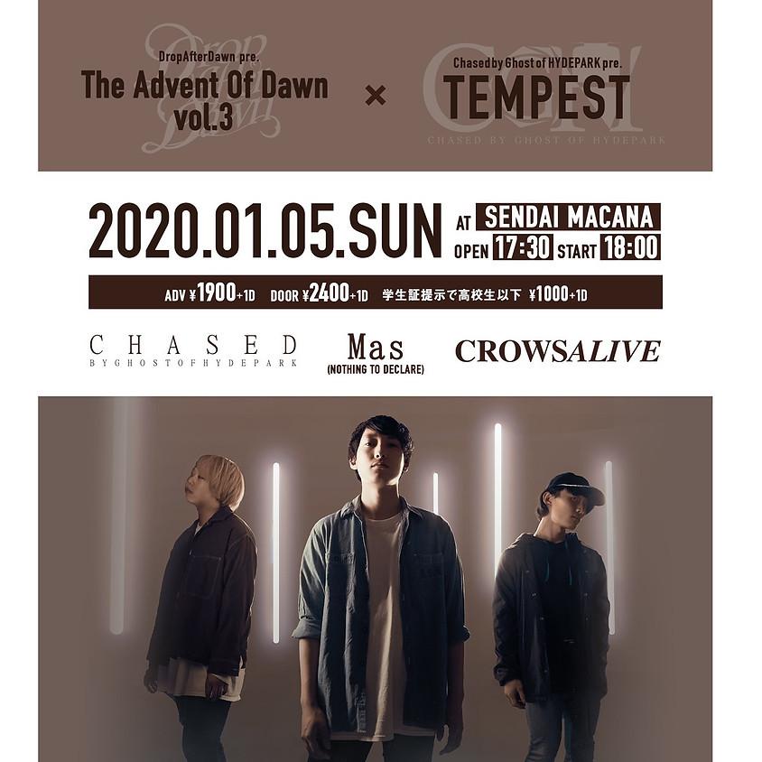 "1/5(Sun.) Drop After Dawn pre.[The Advent Of Dawn vol.3] - CGH New Single ""PURGE"" Release Tour -"