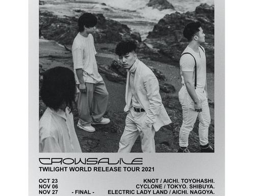 """""""RELEASE TOUR""""  1st Full Album """"Twilight World"""""""