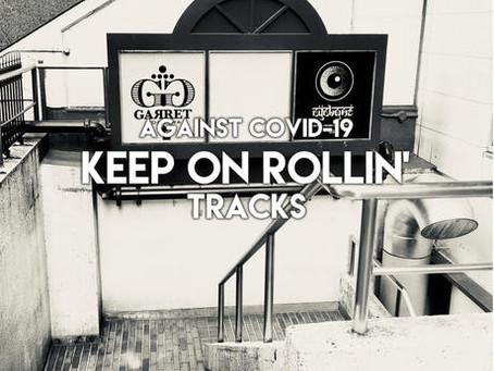 """渋谷CYCLONE/GARRET主催コンピレーションアルバム""""V.A/KEEP ON ROLLIN' Tracks"""""""
