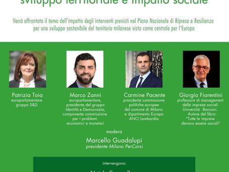 PNRR: Milano e l'Europa, sviluppo territoriale e impatto sociale - VIDEO