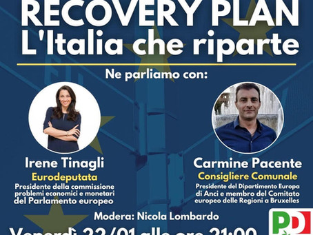 NEXT GENERATION EU: incontro con Irene Tinagli