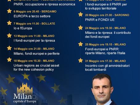 FONDI UE E PNRR, PARLIAMONE INSIEME - INCONTRI MAGGIO