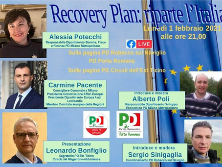 RecoveryPlan: riparte l'Italia - VIDEO