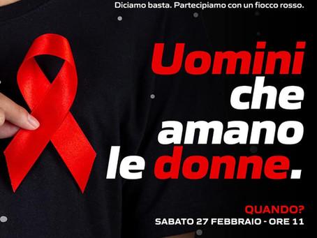 """Flash mob contro la violenza di genere, """"Uomini che amano le donne"""" - Consiglieri del PD"""