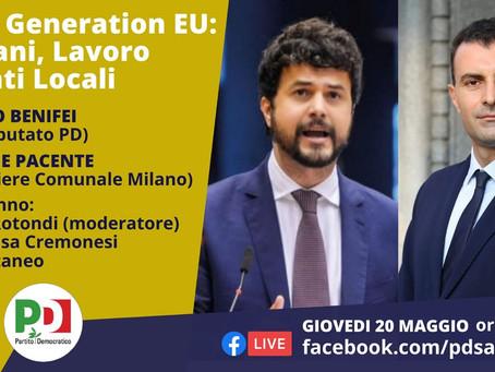 Next Generation EU: Giovani, Lavoro ed Enti Locali - VIDEO
