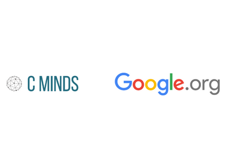 Google.org selects C Minds to support through AI for Social Good COVID-19 Fund