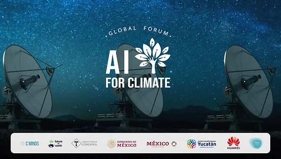 This panel, integrated by Frédéric García, President of the AI for Climate Board of Advisors, Kathy Greogire, from Pronatura and Jesarela López from INEGI, talks about the relevance of making data available to understand our changing planet and what kind of data we need to collect in order to achieve this.