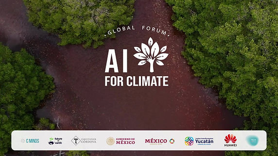 Welcome to the First AI for Climate Global Forum. In this session we get to know the AI for Climate Initiative from the Co-Founders. We also hear a message from the Governor of Yucatan about the importance of the fight agains climate change in Yucatan and, to conclude, Mr. Alfonso Romo shares a massage about the 2030 Agenda in Mexico and, the challenges and opportunities to achieve the Sustainable Development Goals in Mexico.