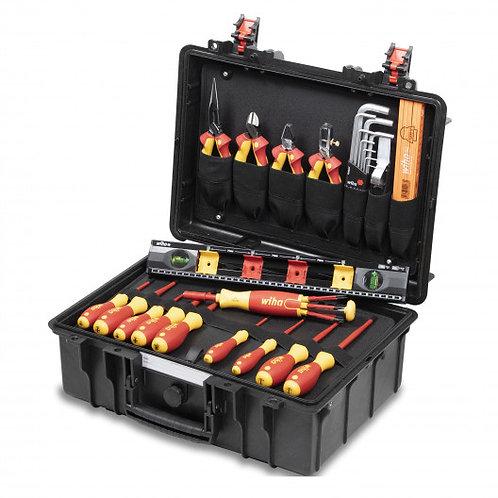 wiha 44505 Werkzeugkoffer Basic Set L electric