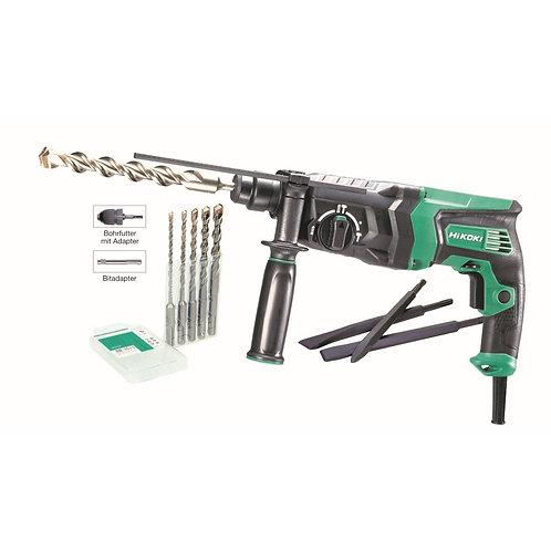 HiKOKI Bohrhammer SDS plus DH26PC2 inkl. 11tlg. Zubehör