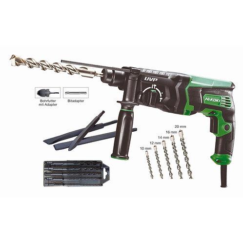 HiKOKI Bohrhammer SDS plus DH28PCY2 inkl. 16tlg. Zubehör
