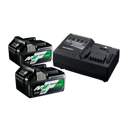 HiKOKI Booster Pack UC18YSL3 + 2x BSL36A18