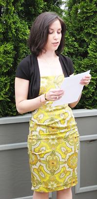 Holly Blum, speechwriter