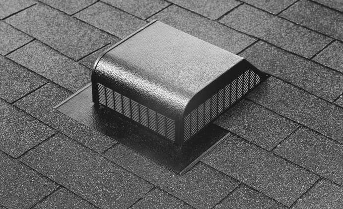 Metal Slant Back Roof Vent