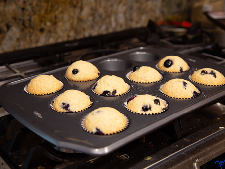 Yummy and Easy Blueberry Muffins!