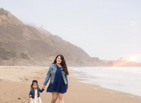 Family Beach Sessions - Stinson Beach