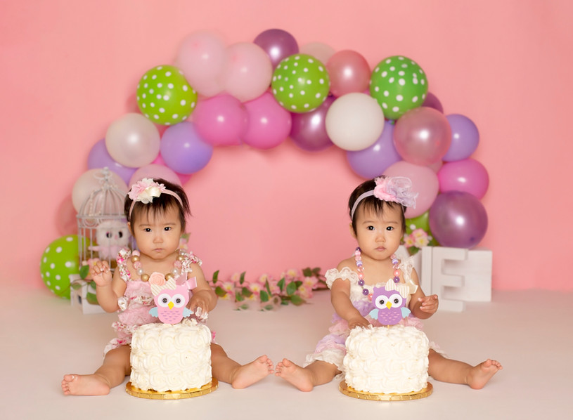 twins cakesmash