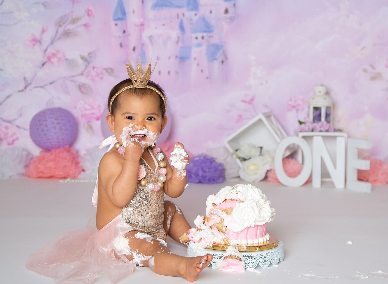 princess cakesmash