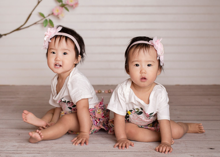 one year twins