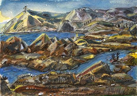 Desert Fjord