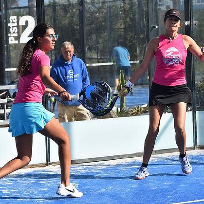Playing Padel Tennis - Corralejo Fuerteventura