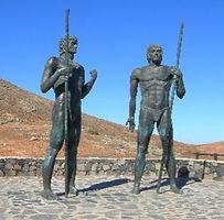 Guanche Statues