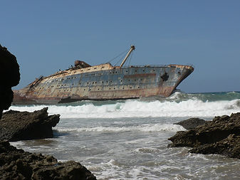 The American Star shipwreck