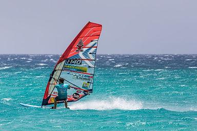 Windsurfing in Jandia - PWA Slalom