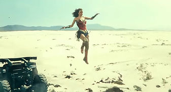 Filming Wonder Woman in the Corralejo Dunes