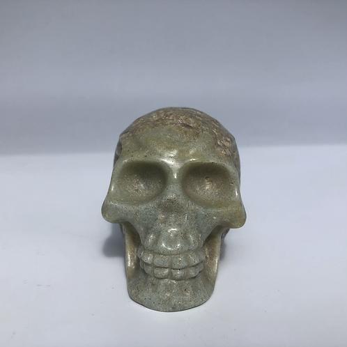 Amazonite Crystal Skull
