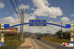 Omera Welcome Sign