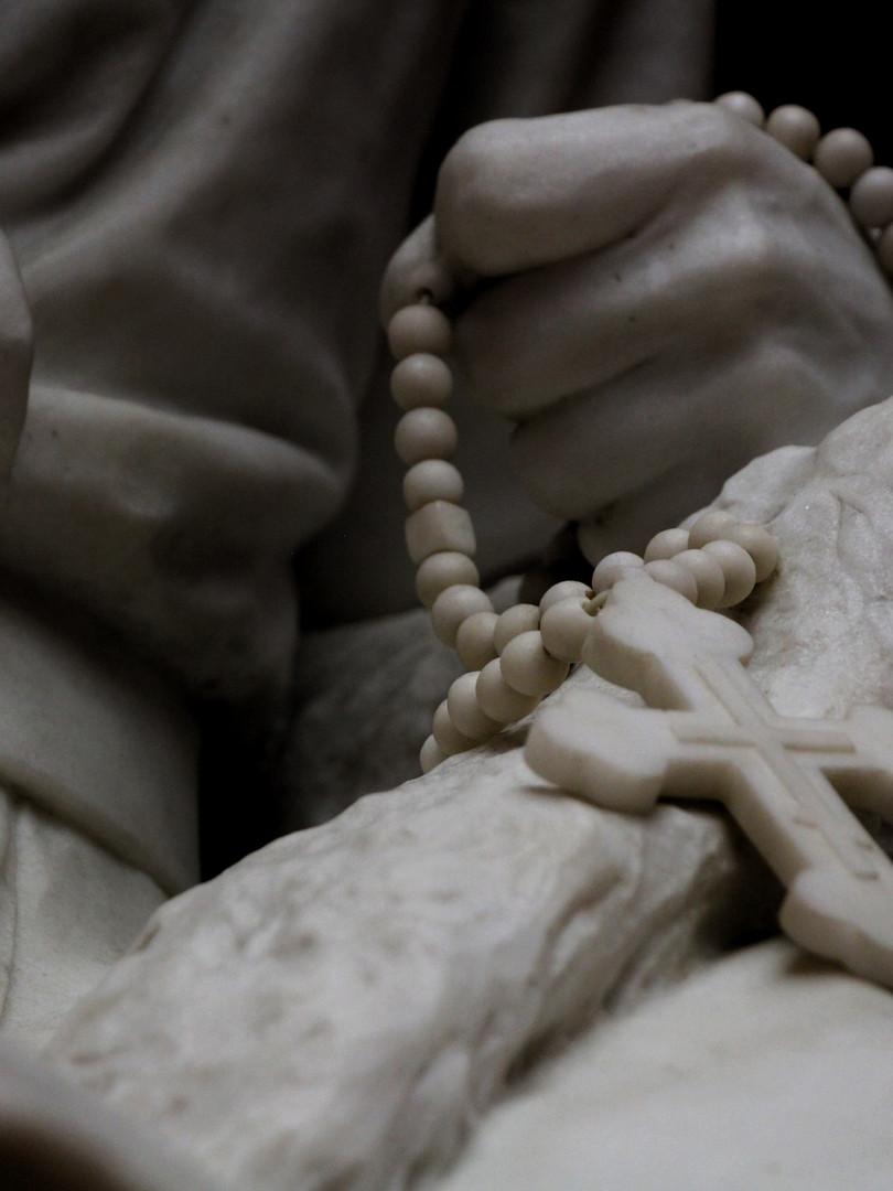 Фрагмент скульптуры Марка Антокольского — Царь Иоанн Васильевич Грозный. 1875 год. Мрамор Автор фотографии: Давид Дивайн