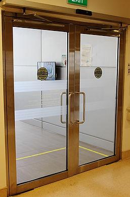 Frame Door. CGH